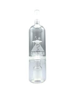 Az Obszidián üveg Bubbler a gőzt lágyabbá teszi, a hőmérséklet csökkentésével és a páratartalom növelésével